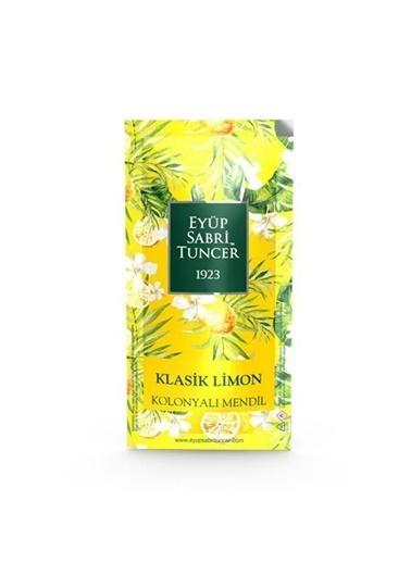 Eyüp sabri tuncer Eyüp Sabri Tuncer Kolonyalı Mendil Klasik Limon 150 Adet Renksiz